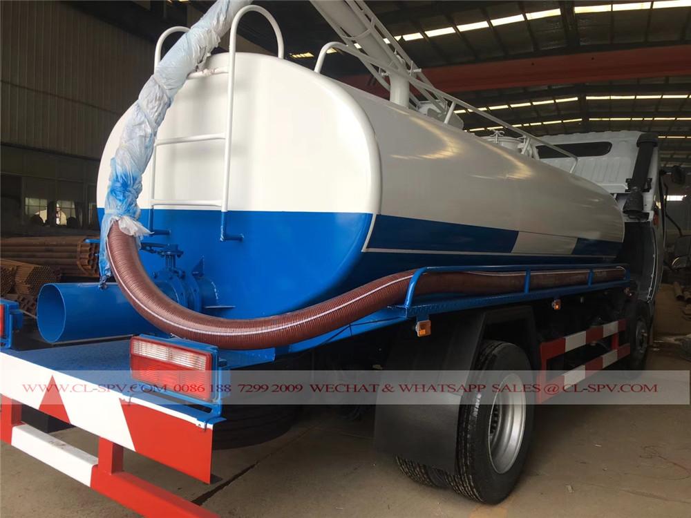 Dongfeng Abwasser Saugwagen