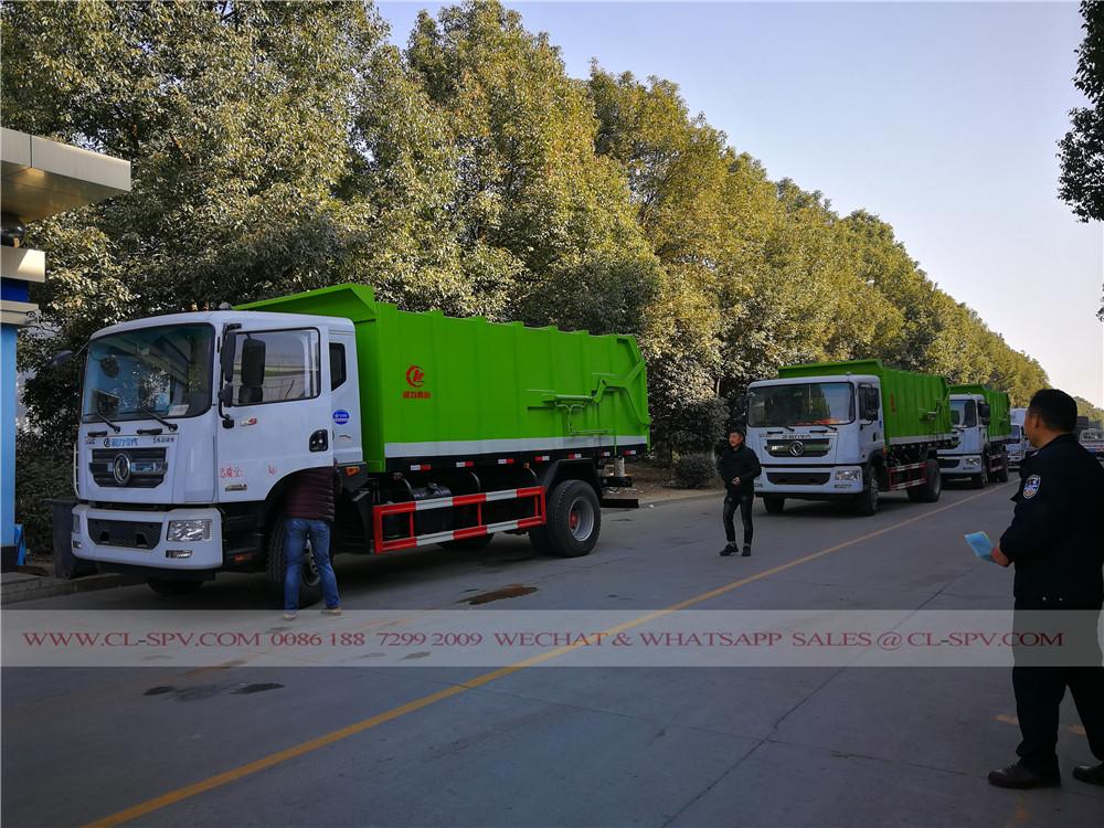Dongfeng док мусоровоз