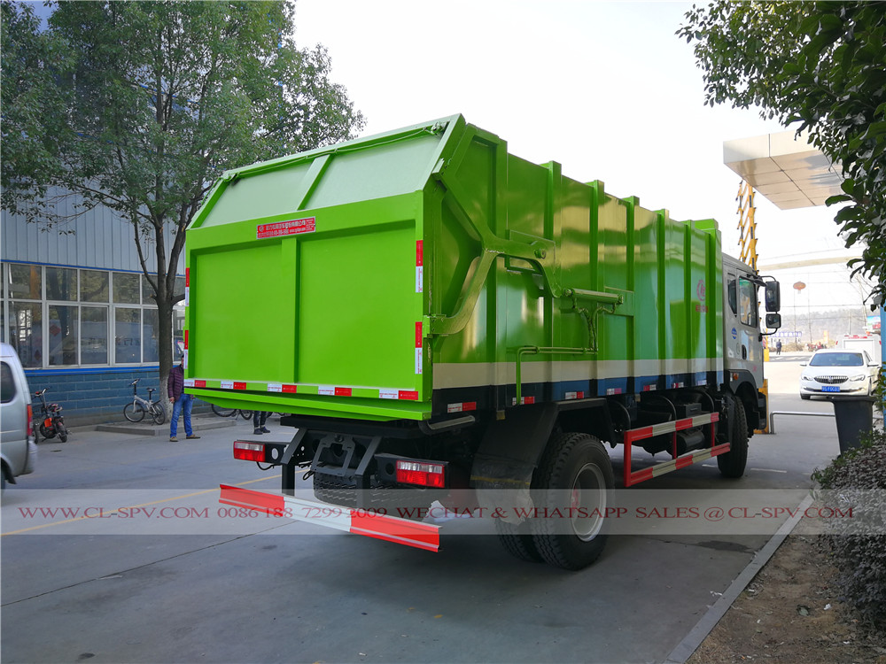 Dongfeng compression garbage truck