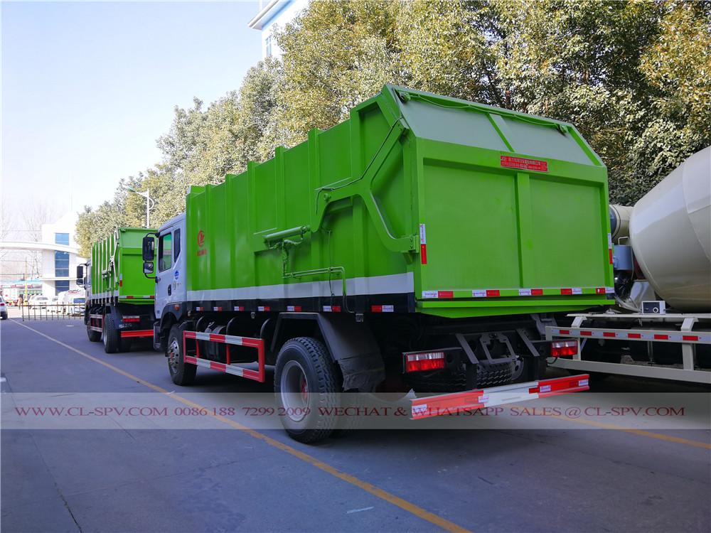 China komprimieren Müllwagen