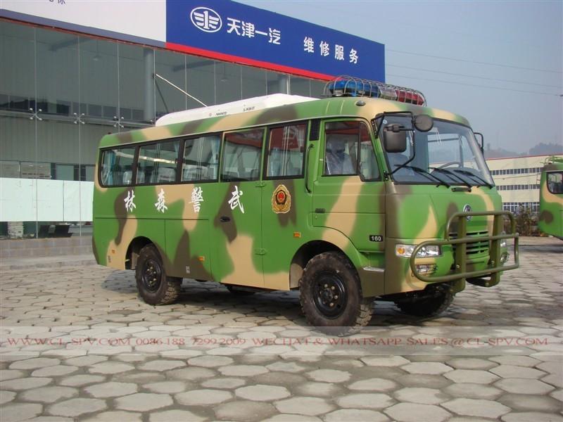 4 transmisión de la rueda del autobús militar