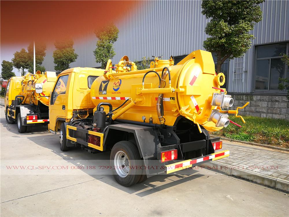 camiones de succión de aguas residuales Foton