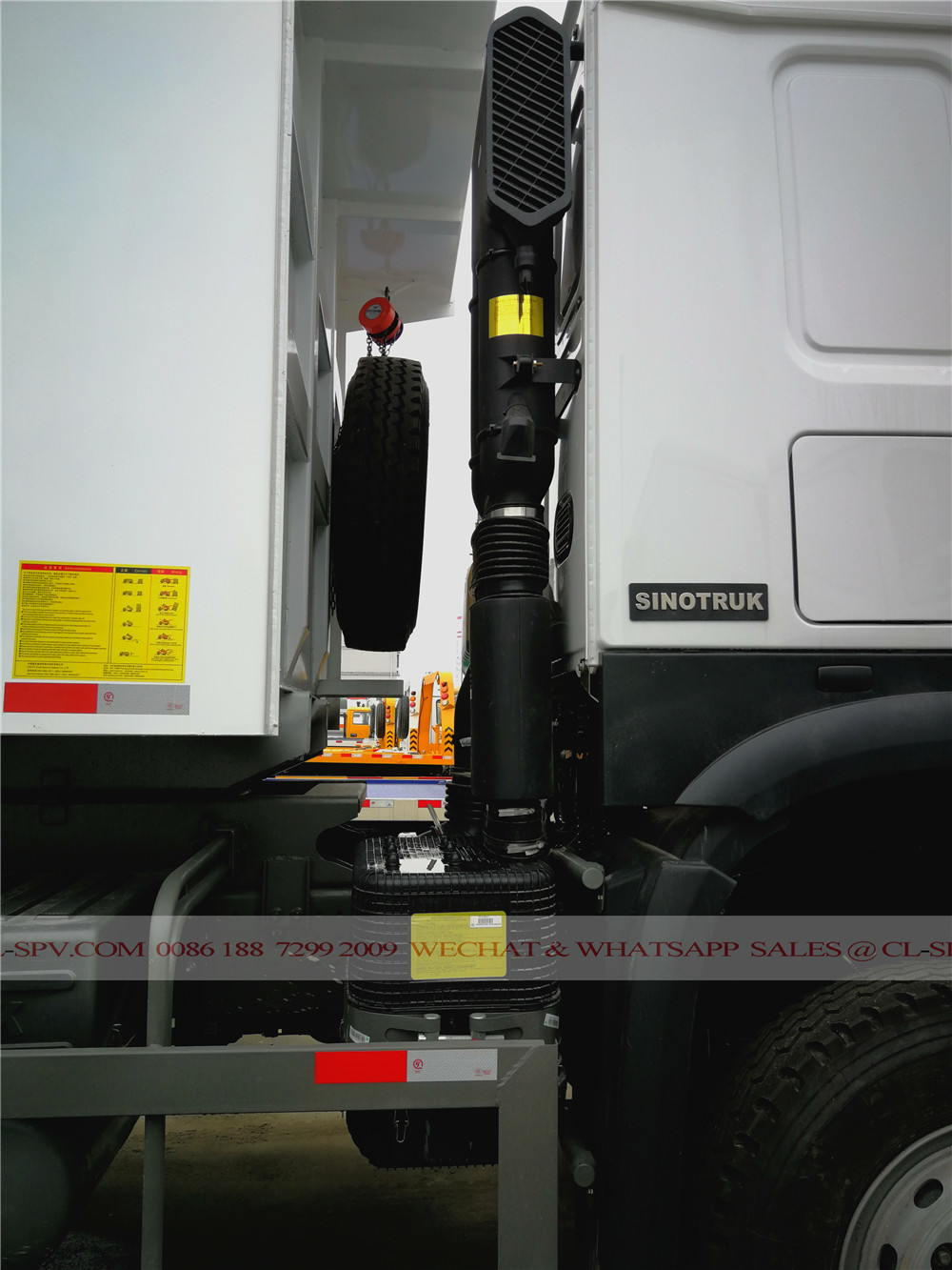 howo dump truck Air filter system
