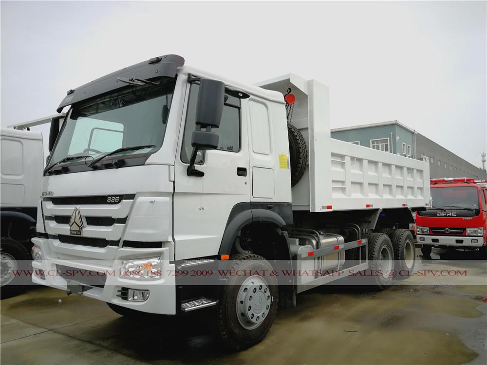 howo 3 axles dump truck