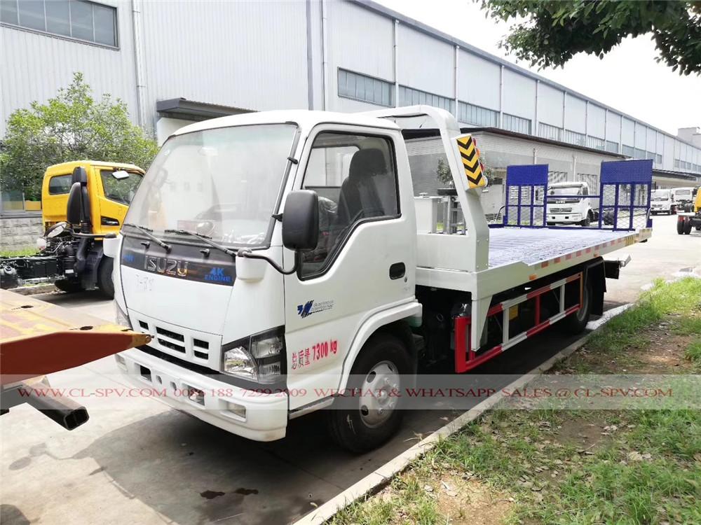 Isuzu camiones grúa 130hp