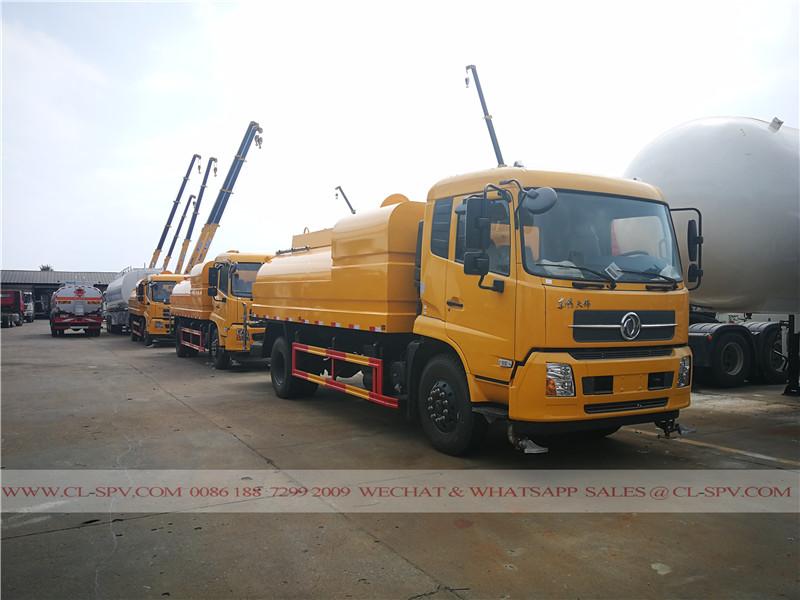 Dongfeng camion haute pulvérisation d'eau sous pression