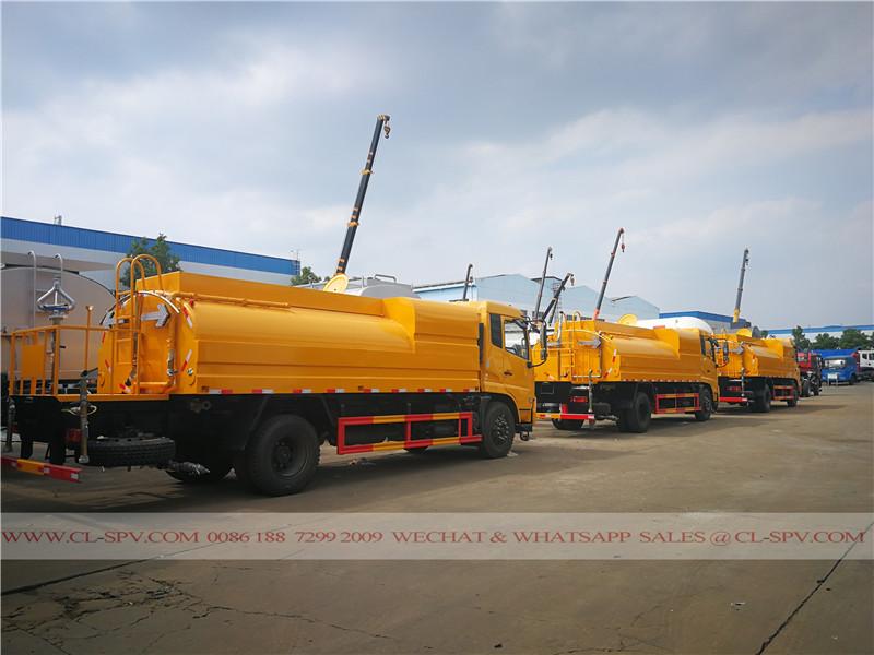 Dongfeng camion de nettoyage de l'eau à haute pression