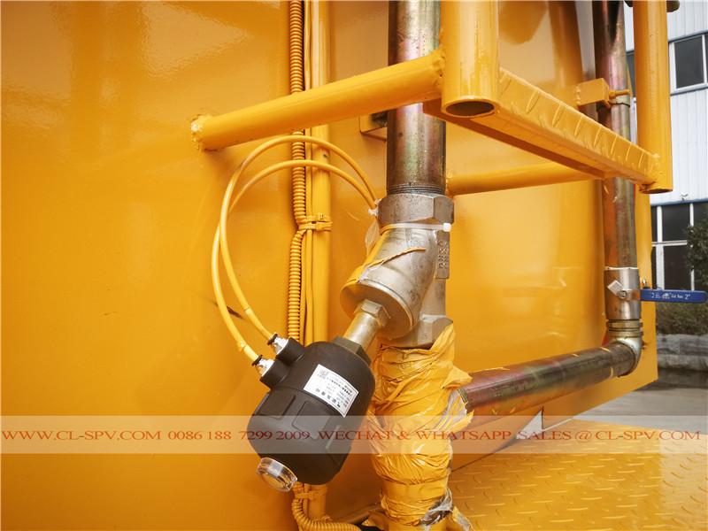 Vanne de pression pneumatique sur la buse de pulvérisation