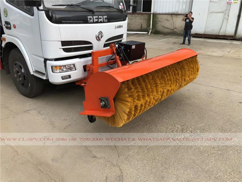 Dongfeng Wasser-LKW mit Schneebesen