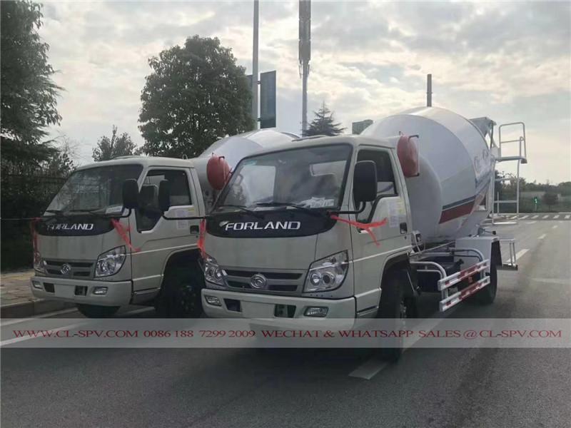 Forland caminhão betoneira