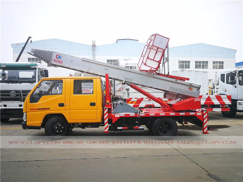 30 م JMC عالية الارتفاع منصة شاحنة نقل المواد