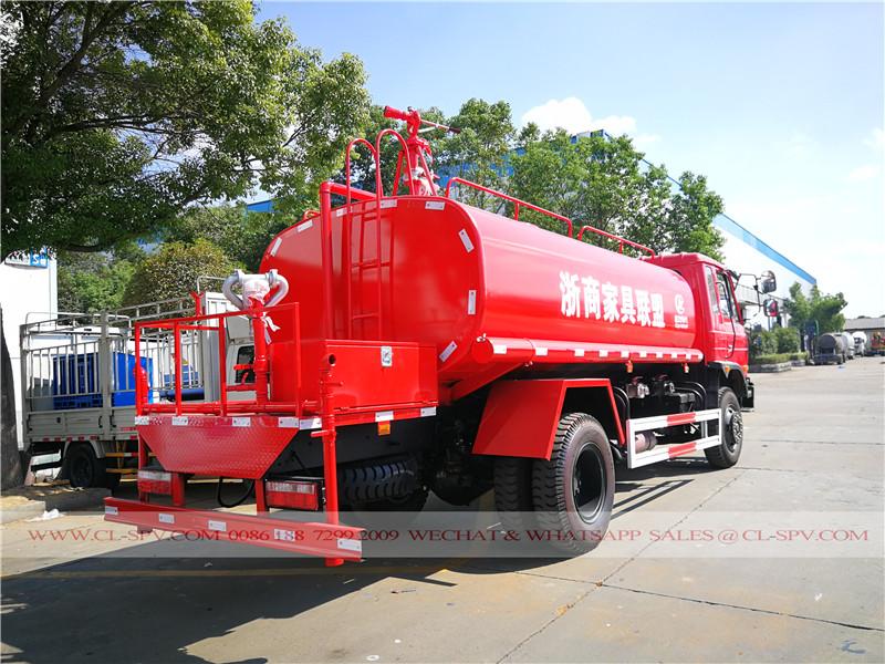 Dongfeng 10000 Liter Wasser bowser