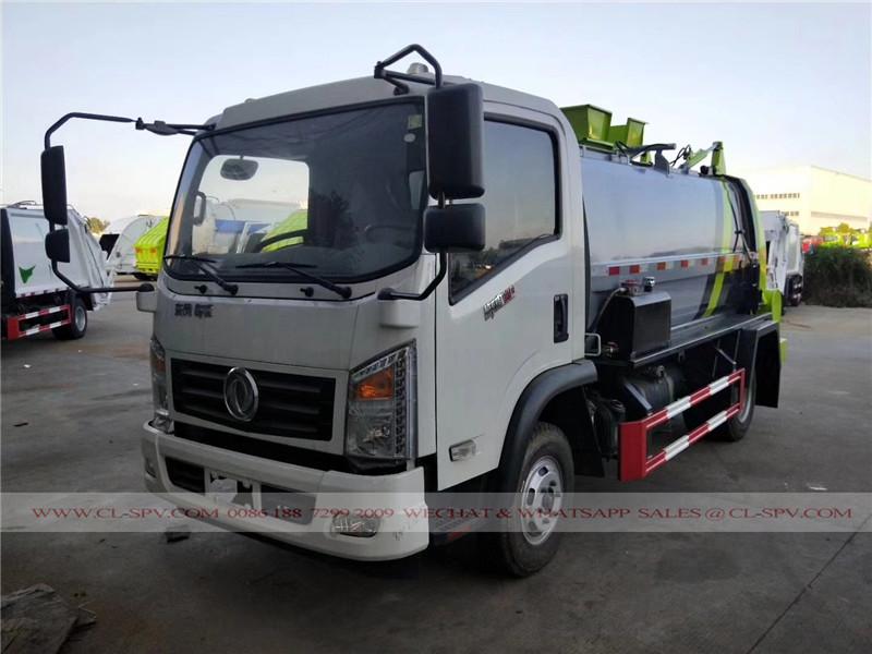 Dongfeng Hanging Eimer Müllwagen
