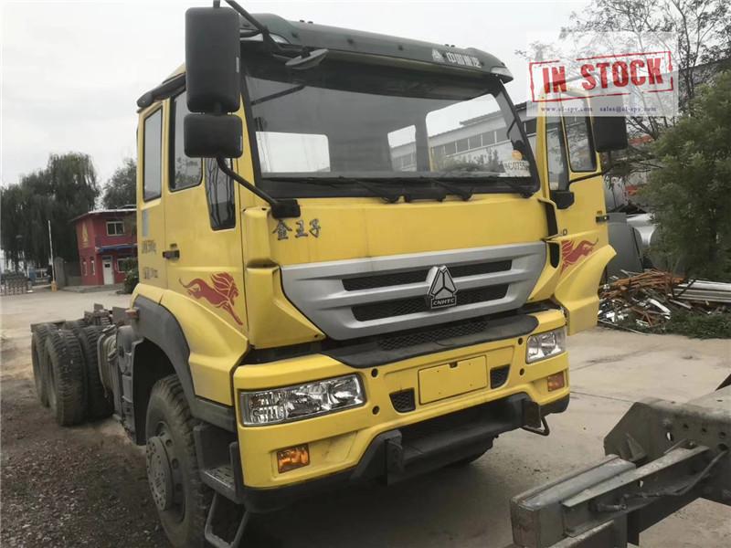 Howo châssis de camion 6x4 en stock