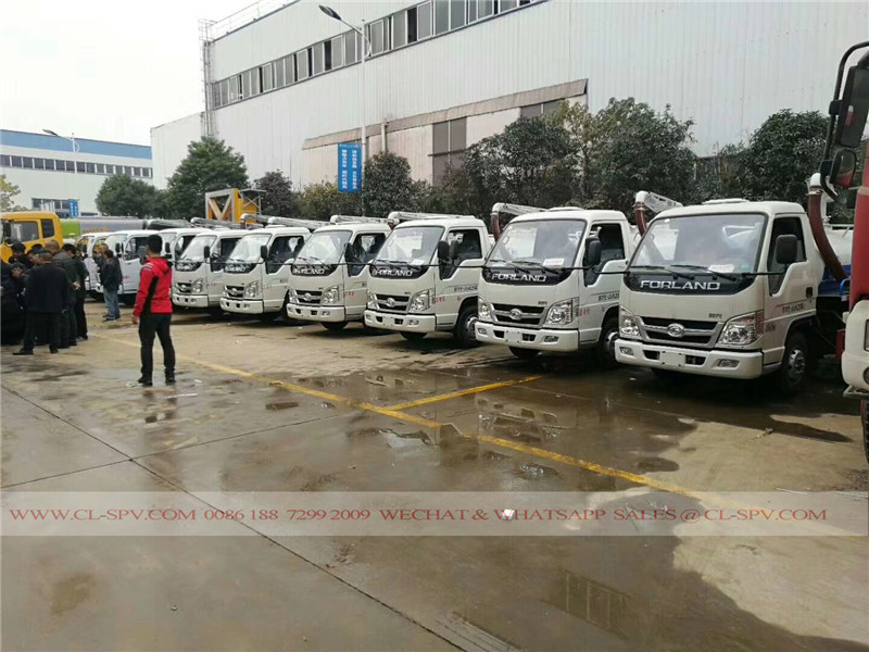 China Foton Vacuum Fecal Suction Truck
