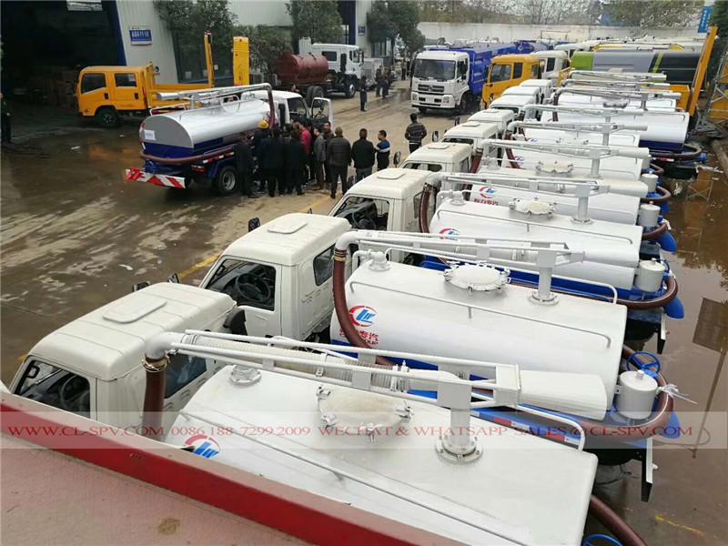caminhão de sucção séptico Forland