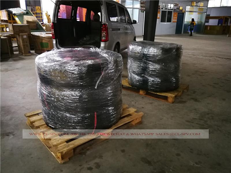 Duplo pneu 11R18 Estrela para o Sudão