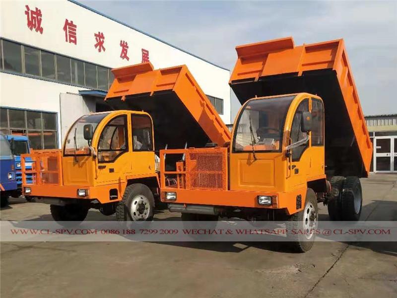 China 5 tons dump truck
