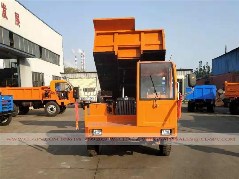 China 6 toneladas camión volquete