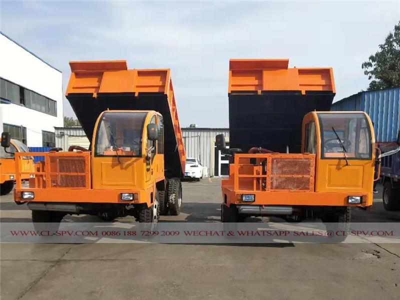 東風 5 tons dump truck factory