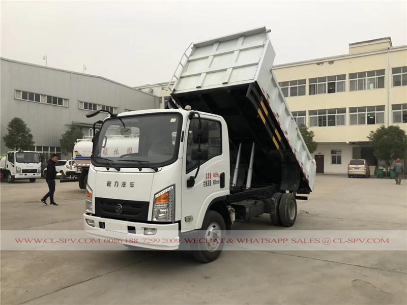 5 tonnes camion à benne