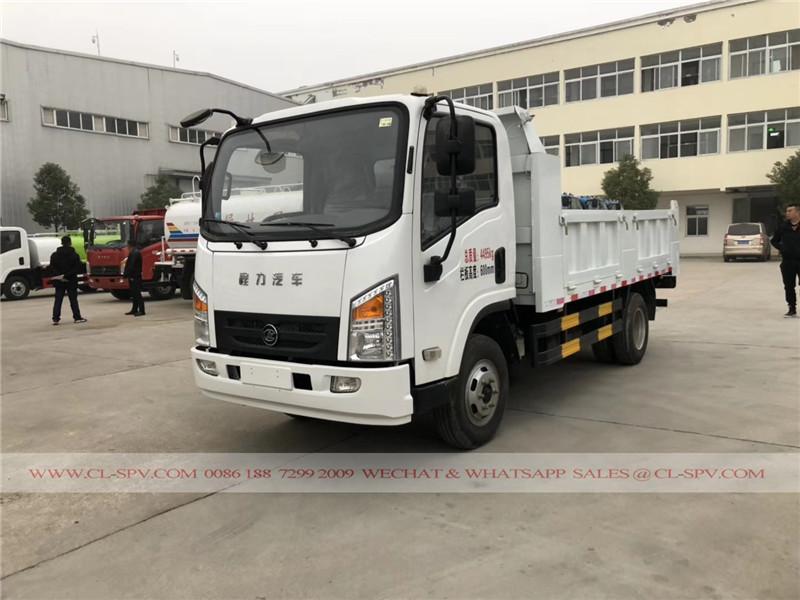 Chine 5 tonnes fournisseur de dumper