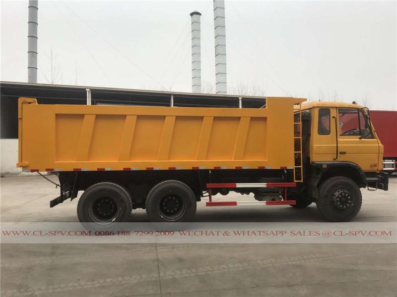 3 axles 25 tons dump truck