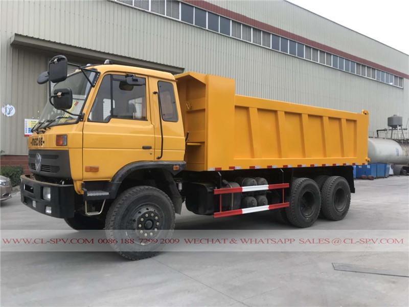 Dongfeng 25 toneladas camión volquete para meche