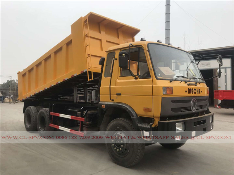 Dongfeng 3 axles 10 wheels dump truck