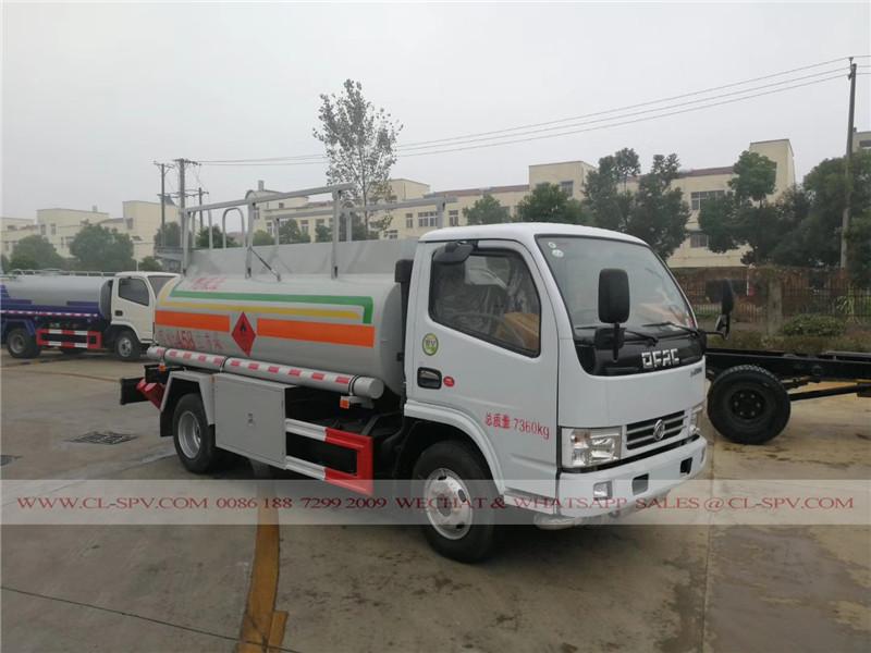 Dongfeng 5000 Liter Kraftstoff-Tanker