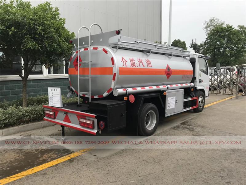 Dongfeng 5000 Liter Edelstahl-Tanker