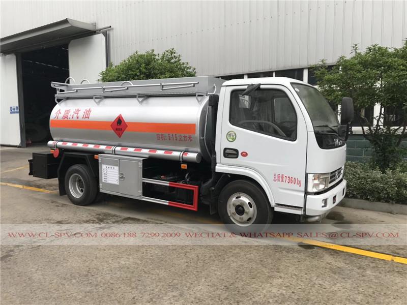 Dongfeng stainless steel diesel tanker