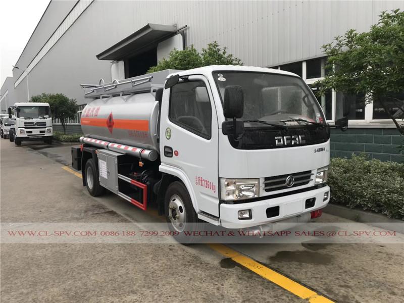 Dongfeng Edelstahl Benzin-Tanker