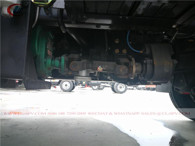 transmissão PTO no tanque de combustível