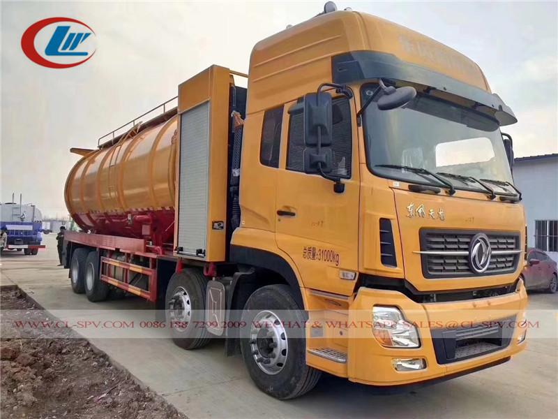 Dongfeng Tianlong camion d'aspiration des eaux usées