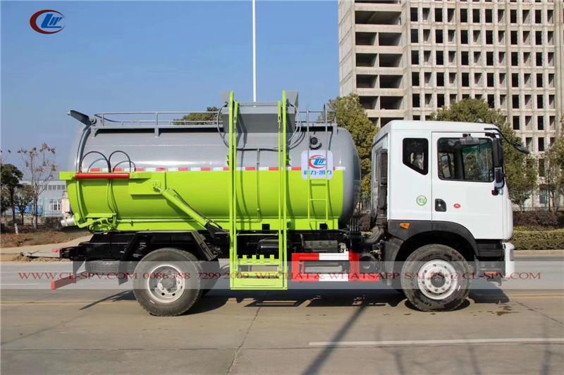 دونغفنغ 8cbm شاحنة خزان القمامة