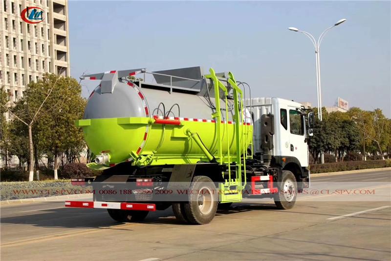 شاحنة القمامة دونغفنغ للدبابات