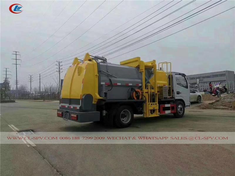 Dongfeng kitchen garbage transport truck