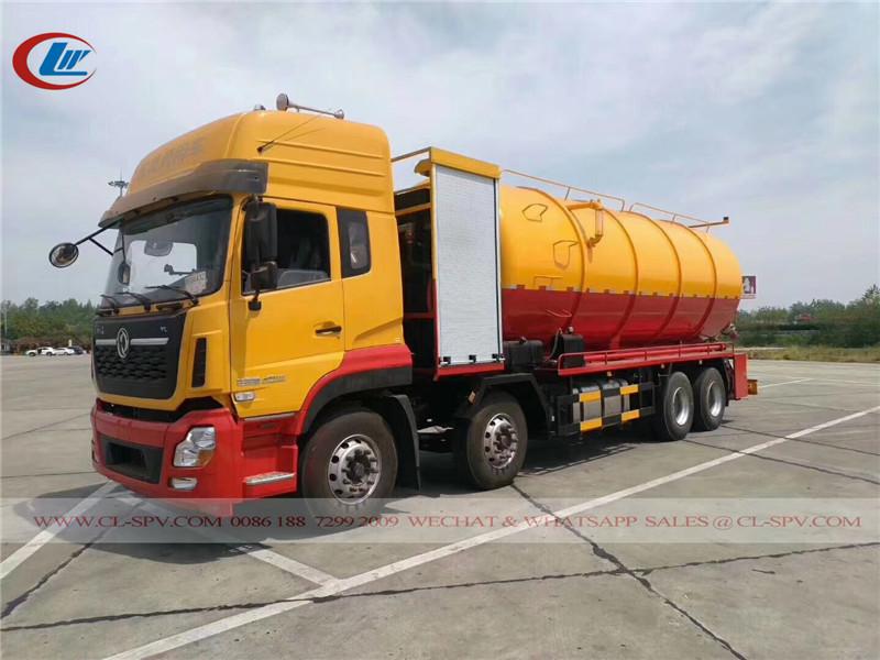 camiones de succión de aguas residuales de Dongfeng