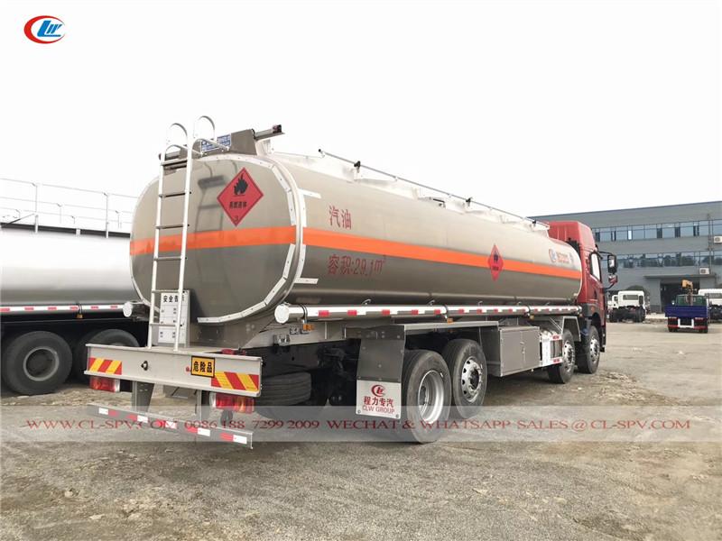FAW Aluminum Alloy fuel Tanker