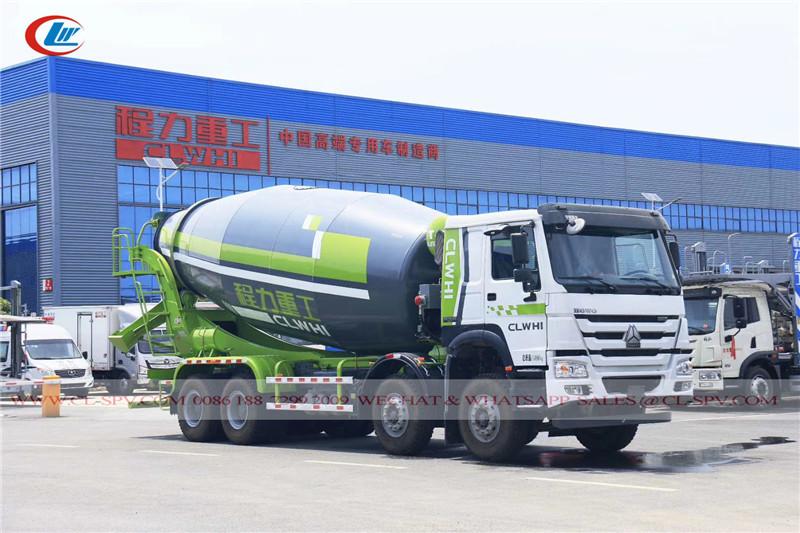 Chengli CLWHI howo 4 車軸コンクリートミキサー車