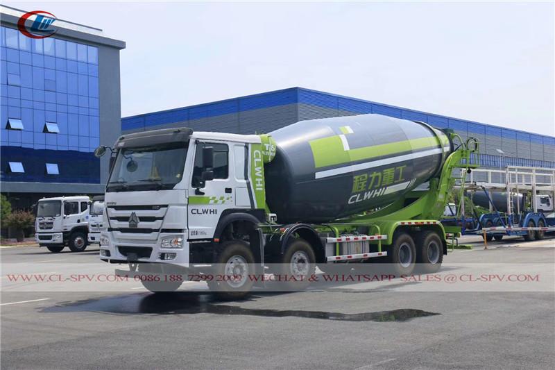 HOWO 4 essieux camion malaxeur concret