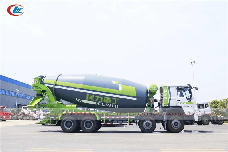 HOWO 14 متر مكعب شاحنة خلاطة الخرسانة