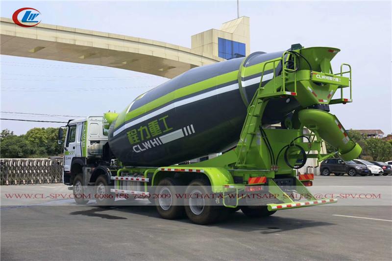 howo concret mixer truck