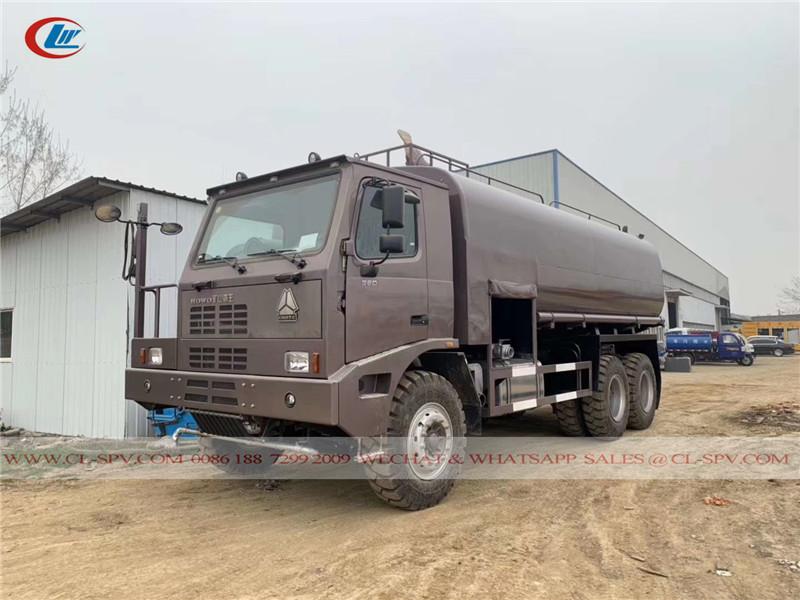 40 T قبالة الطريق شاحنة لنقل المياه