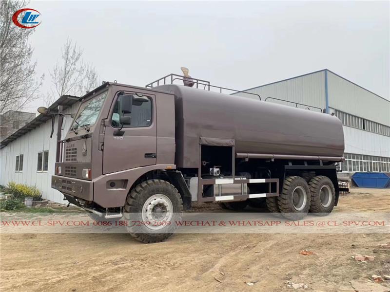 40 cbm water tanker for mining