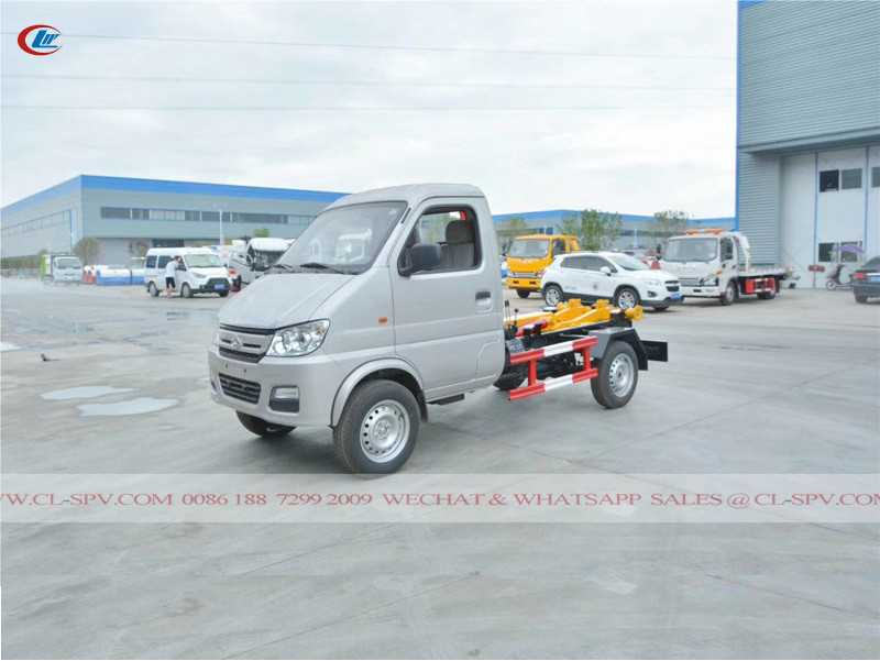 Changan hook arm garbage truck
