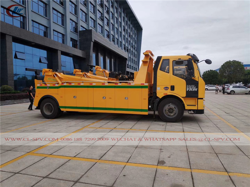 China heavy duty tow truck