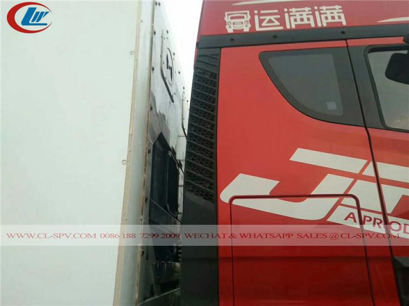 FAW camion frigorifique
