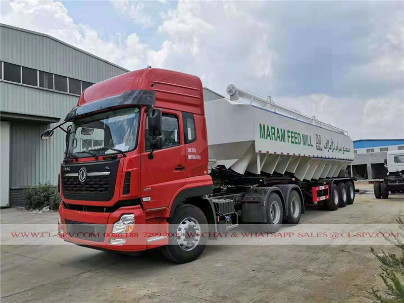 Chine TRAILERS ALIMENTATION DE TRANSPORT MARAM FEED MILL